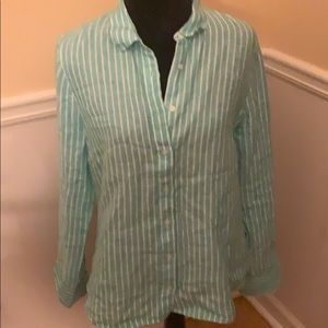 2 for $20 J Crew Irish Linen button down shirt